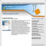 Presentatie Internet website VIDonline